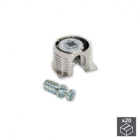 Kit scodellino di unione Fix D. 20 x 12,5 mm e perni D. 6 mm