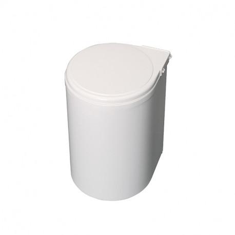 Pattumiera per differenziata fissaggio all'anta, contenitore da 13L