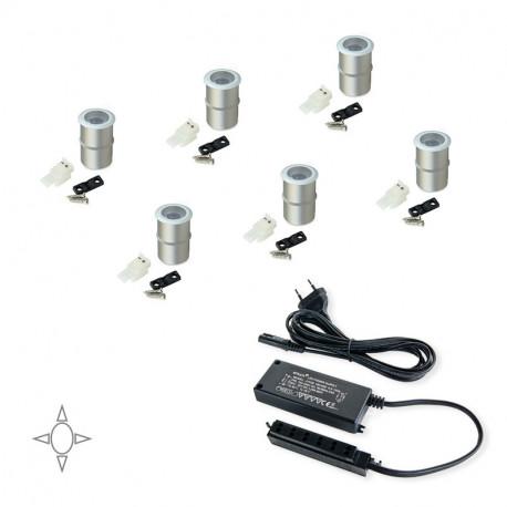 Luce LED ad incasso Alcor con convertitore da 15 W