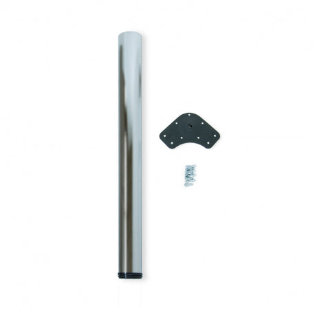 Gambe per tavolo D. 80 mm di acciaio