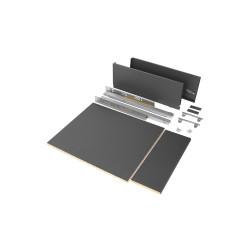 Kit de cajón para cocina o baño Vertex de altura 178 mm con tableros incluidos
