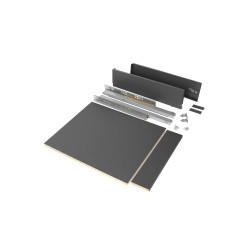 Kit de cajón para cocina o baño Vertex de altura 93 mm con tableros incluidos.