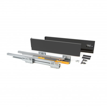 Cassetto esterno Concept 50 kg altezza 138 mm