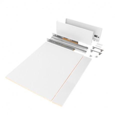 Kit cassetto per cucina o bagno Vertex di altezza 178 mm con pannelli inclusi.