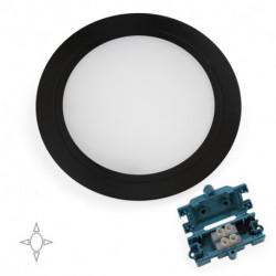 Faretto LED Mizar per l'incasso nei mobili senza la necessità di un convertitore.