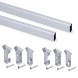 Kit tubo per armadio Silk