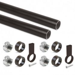 Kit tubo per armadio rotondo Ø28