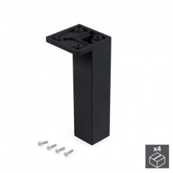 piedino per mobili Smartfeet 1, regolabile, Plastica