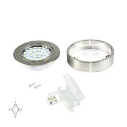 Emuca Faretto LED Crux-in con supporto e luce naturale