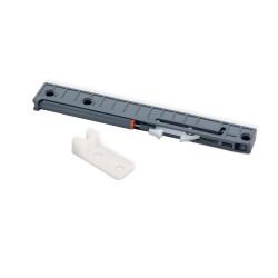 Dämpfungssystem für Schubladen mit Rollschubführungen T30