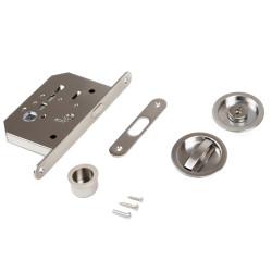 Emuca Kit di serratura con nottolino per porte scorrevole.