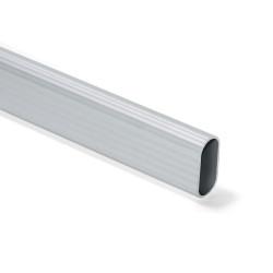 Barra de aluminio para armario