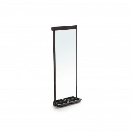 Miroir extractible pour l'intérieur de l'armoire Moka