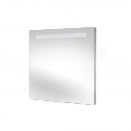 Miroir de salle de bain Pegasus avec éclairage frontal LED (AC 230V 50Hz)