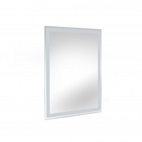 Specchio da bagno Hercules con illuminazione LED frontale e decorativa
