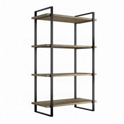 Estantería Lader con estructura y estantes