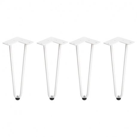 Hairpin Set di gambe a 2 aste per tavolo