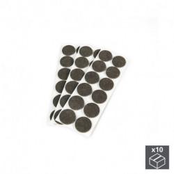 Feltrini adesivi circolari per mobile