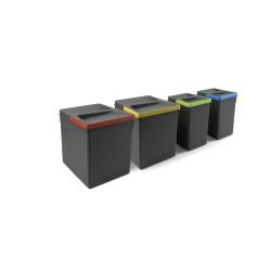 Contenedores para cajón cocina Recycle, Altura 266