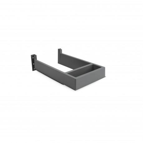 Salva sifón rectangular para cajón de baño
