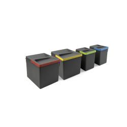 Contenedores para cajón de cocina Recycle, Altura 216